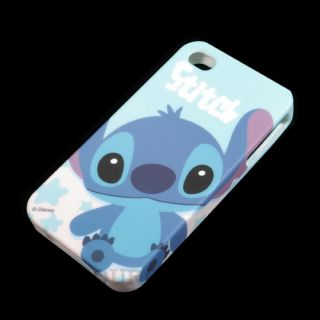New Disney Baby Stitch Silicone Gel Soft Back Case for iPhone 4G 4S