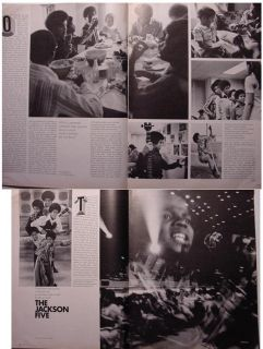 Look August 25 1970 Music Michael Jackson Five The Band