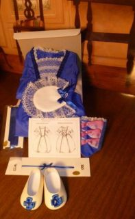 Newly listed AMERICAN GIRL FELICITYS BLUE HOLIDAY GOWN OUTFIT NEW IN