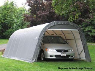 Round Style Portable Garage Carport Shed Boat RV Auto New