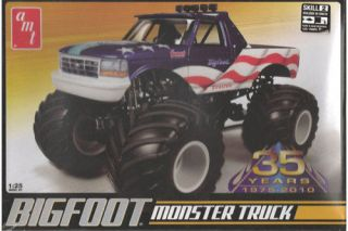 amt ford bigfoot monster truck 35 years anniversary time left