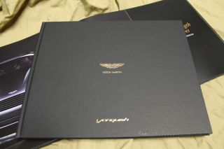 2013 Aston Martin Vanquish 310 hardcover brochure book Catalogue