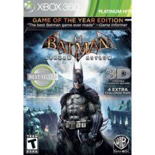 Batman Arkham Asylum Platinum Hits Game of the Year Edition Xbox 360