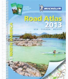 States USA Canada Mexico Road Atlas Deluxe Spiral 2067175424