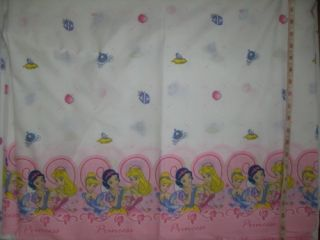 Fabric Disney Princess 2 yds Snow White Aurora Pink 3