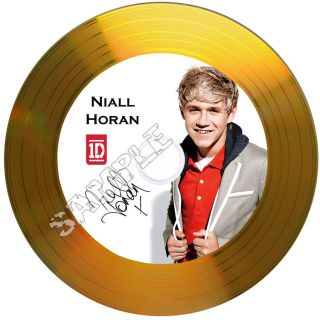 Horan One Direction Signed Gold Disc with Autographs Ideal Gift