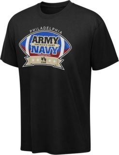 Army Black Knights vs Navy Midshipmen Americans Game Black T Shirt