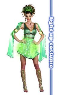 mythical medusa adult sexy halloween costume more options size one