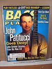 bass player magazine april 2000 john patitucci expedited shipping