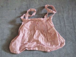 Kirstens Apron Meet American Girl doll clothing outfit kirsten red