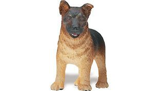 Safari #235629 German Shepherd Puppy, Toy Collectible Dog