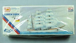 RARE 1978 JAPAN IMAI GERMAN 3 MASTER BARK GORCH FOCK SAILING SHIP BOAT