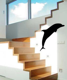 Sea Ocean Dolphin Nursery Room Wall Art Vinyl Decal 4ft