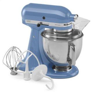 KSM150PSCO Cornflower Blue Artisan Series 5 Quart Stand Mixer