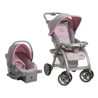 Baby Girl Travel System Stroller Car Seat Pooh Pink And Gray Safety