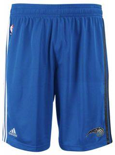 NBA Orlando Magic Adidas on Court Pre Game Shorts Blue