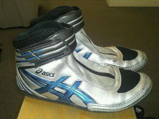 Ultra Rare ASICS LYTEFLEX SUPREME 2 Wrestling Shoes size 10 5