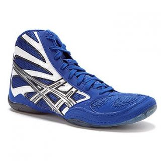 Asics Split Second 8 Wrestling Shoes Multiple Sizes 11 5 13 Blue White