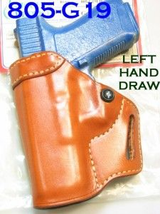 Left Askins Style Gun Holster Glock Compact 19 23 25 32