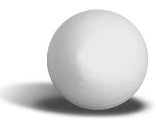 table tennis. (38mm) White light hollow ball used in playing table