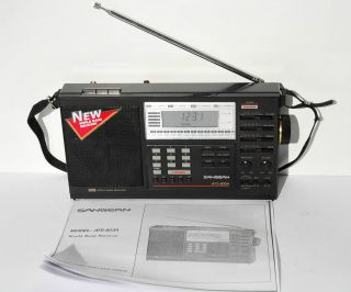 Sangean Model ATS 803A Portable Short Wave Radio Receiver