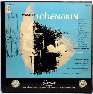 Wagner Lohengrin Steber Varnay Keilberth 5LPS London