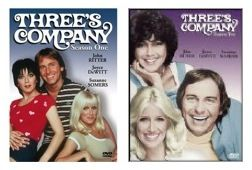 New Threes Company DVD 1st 2nd Season 1 One and 2 Two Seasons