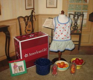 American Girl Kit's Produce & Preserves NEW in box Retired