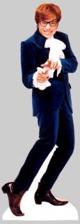 Austin Powers Mike Myers Spy Lifesize Cardboard Standup Standee Cutout