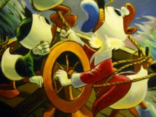 Scrooge McDuck of Duckburg Flying Dutchman Carl Barks Walt Disney