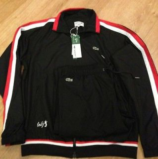 lacoste tracksuit andy roddick 2012 size 8