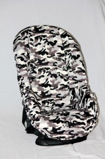 BABY CAR SEAT COVER FITS EVENFLO TITAN OR BRITAX ROUNDABOUT. G/B CAMO