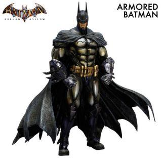 Batman Arkham Asylum Batman Armored Play Arts Kai Action Figure Square