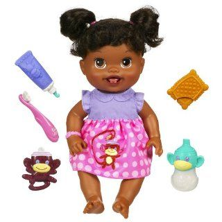 Baby Alive Babys New Teeth African American Doll New