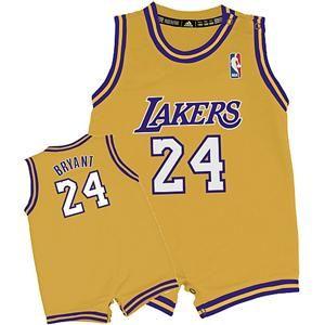 Adidas La Lakers Kobe Bryant Infant Toddler Youth Revolution 30 Jersey