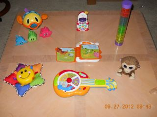 Lot of Toddler Baby Toys Learning Sounds Music Interactive Electronic