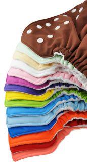 FuzziBunz Washable Cloth Pocket Diaper with Microfiber Inserts One