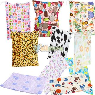 Wet Dry Bag Baby Cloth Diaper Bag Baby Nappy Diaper Bags U Pick