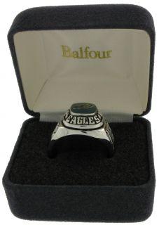Balfour Ring Boxed Football NFL Philadelphia Eagles Sz 9
