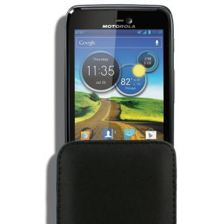 Case Car Charger for Motorola Atrix HD at T LTE MB886 Leather Pouch