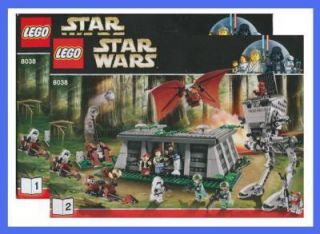 Lego Bauanleitung 8038 Star Wars Battle of Endor 1684
