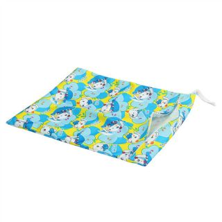 Wet Dry Bag Baby Cloth Diaper Bag Baby Diaper Bag with Blue Yellow