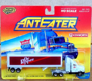 1990 Road Champs AntEater Dr Pepper Tractor Trailer Truck HO Train
