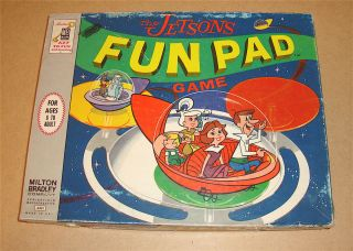 1963 Milton Bradley Hanna Barbera The Jetsons Fun Pad Game