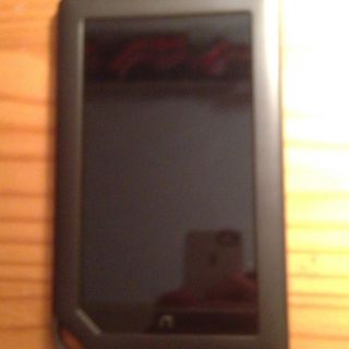 Barnes Noble Nook Color 8GB Wi Fi Free Leather Case