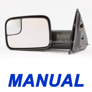 Manual Extendable Tow Towing camper Side View Mirror Fast SHIP