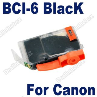 High Quality Black BCI 6 Ink Cartridges for Canon IP8500N BJC 3000