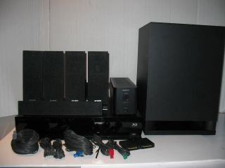 Sony BDV E770W 3D Blu ray DVD Disc Home Theater System Complete with