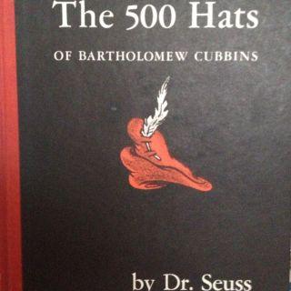 Dr Suess 500 Hats of Bartholomew Cubbins 1938 Vanguard Publishers
