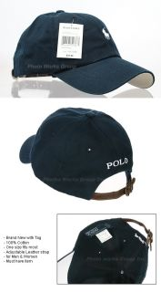 Outdoor Golf Sports Classic Baseball Ball Cap Hat Navy White